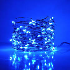copper wire led lights 33 foot led fairy lights 100 blue micro led lights on copper wire