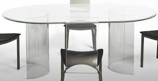 Glass Dining Table And Chairs Table Oval Glass Dining Table Set Beach Style Large Oval Glass