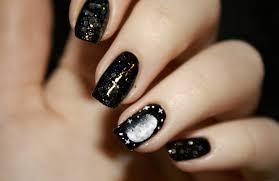 nail art design night moon youtube