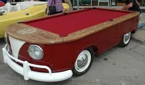volkswagen van hippie volkswagen hippie van pool table neatorama