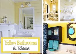 yellow bathroom ideas yellow bathrooms ideas inspiration remodelingguy net