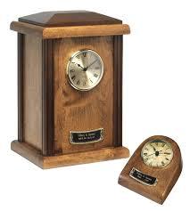 wood clock tower urn autumn finish 65 150 01 wtu 62 65 00