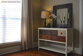 Wood Console Table Ana White Reclaimed Wood Console Table Diy Projects