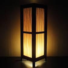 light shades for floor ls 15 tall asian oriental japanese bamboo zen art bedside floor table