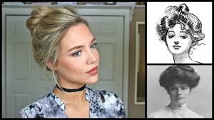 hairstyles from 1900 s 1900 s inspired hair flashback friday beauty ellepearls