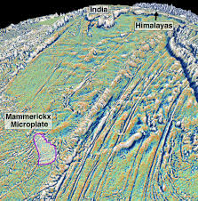 India Satellite Map by Satellite Maps Reveal Small Tectonic Plate Answer Questions