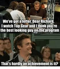 Top Gear Memes - we ve gotaletter dear richaru i watch top gear and i thinkyou re