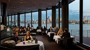 Places To Have A Baby Shower In Nj - weehawken waterfront seafood restaurant dining with a ny view