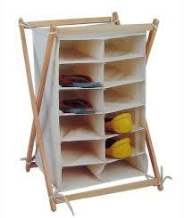 shoe organizer wooden shoe racks idea loccie better homes gardens ideas