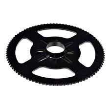 25 chain sprocket 90 tooth single threaded mounting hole