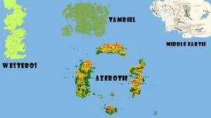 Map Size Comparison Fictional Map Size Comparison Trailer Youtube