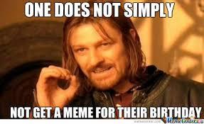 Funny Birthday Memes Tumblr - birthday meme is gud by fishr meme center