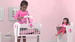 girls baby dolls cot u0026 high chair for royal princess doll