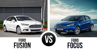 gas mileage for 2014 ford focus the ford fusion vs ford focus a tale of two fords