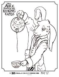 alice coloring sheet and printables highlights along the way