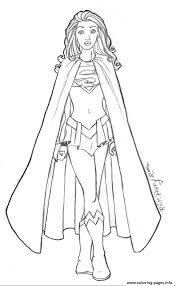 print supergirl 12 coloring pages coloring 4 kids dc super