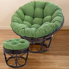 green corduroy papasan cushions chair cushions cost plus
