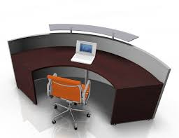 How To Make A Reception Desk Curved And Compact Reception Desk Active S Reality