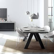 bureau beton ciré table à manger design apex aspect béton ciré atylia prix promo