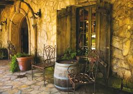 houses tuscan house chairs table barrel door wall lamp wallpapers