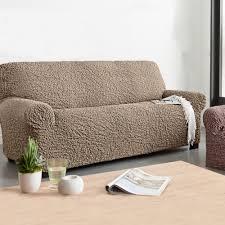 housse extensible canapé housse canapé 3 places extensible meuble et déco