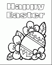 excellent easter egg coloring printables with easter coloring