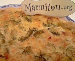 cuisiner le brocolis frais tarte aux brocolis et au chèvre frais recette de tarte aux