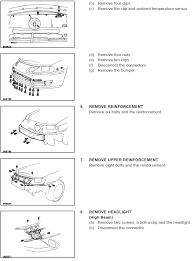 lexus sc300 headlight assembly lexus sc300 400 front bumper installation