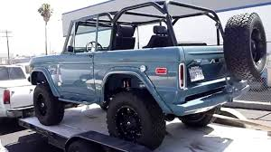 Vintage Ford Truck Mirrors - classic ford bronco rocky roads legend 4x4 part 2 youtube