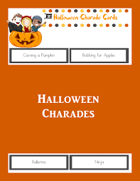halloween charades printable halloween game the joys of boys