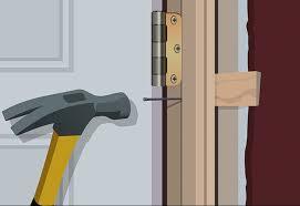 Prehung Interior Door Installation How To Install A Prehung Interior Door With Split Jamb Best