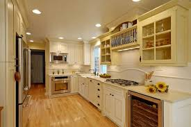 Yellow Kitchen Cabinets - cream kitchen cabinets pictures how refinishing cream kitchen