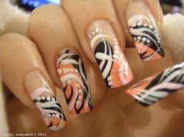 nail designs with lines beautify themselves with sweet nails
