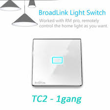 wireless wall light switch aliexpress com buy broadlink tc2 wireless 1gang smart home remote