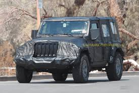 jeep front grill 2018 jeep wrangler production grille and and led headlights
