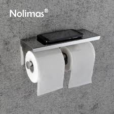 online get cheap toilet paper holder double aliexpress com