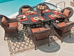 Aluminum Wicker Patio Furniture - patio 65 outdoor patio furniture sets aluminum outdoor dining