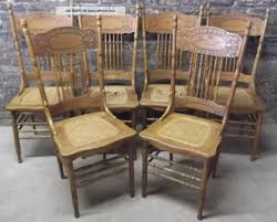 Oak Dining Room Sets For Sale Antique Cane Dining Room Chairs Pair Of Antique Cane Bottom