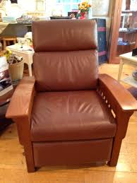 mission style recliner simply vintage of cape cod