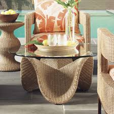 Aluminum Frame Wicker Patio Furniture - table overwhelming tommy bahama aviano round wicker patio