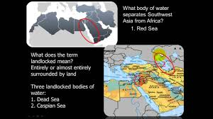 Map Of Middle East And North Africa by North Africa Middle East Physical Features Youtube