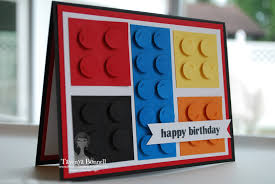 from my pad to yours lego punch art card