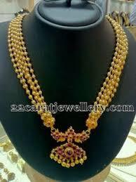 Buy Alankruthi Pearl Necklace Set Alankruthi Pearl Necklace Set 7 Pearl Necklace Set Pearl