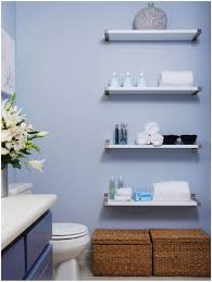bathroom blue wall shelving painting storage ideas for bathroom closet storage containers smlf