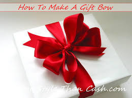gift bows make a gift bow