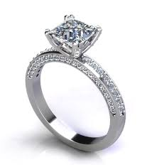 design an engagement ring princess cut engagement rings jewelry designs