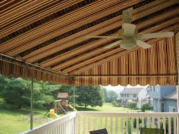 Awning Sunbrella Sunbrella Fabric Awning With Galvanized Steel Frame And Ceiling