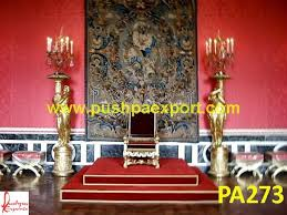 Throne Style Chair Carving Silver Throne Style Chair Pushpa Arts Silver Furniture