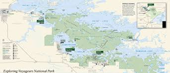 Us National Parks Map Voyageurs National Park The Sights And Sites Of America
