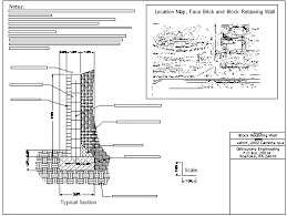 Retaining Walls Design Stupendous Wall Design Backfill - Reinforced concrete wall design example